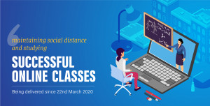 Online Classes Being Conducted at The British College
