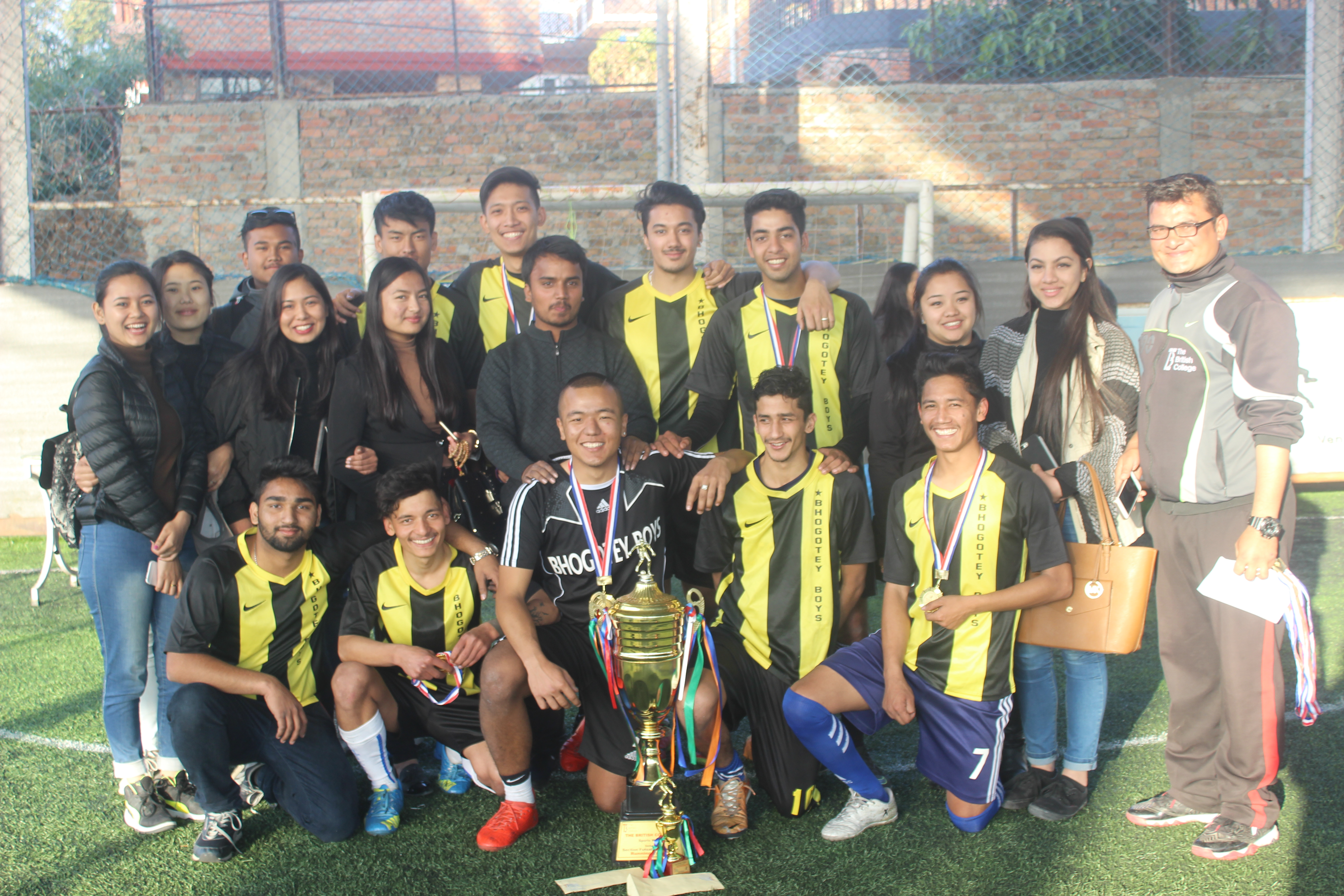 TBC Intra College Futsal Tournament 2017