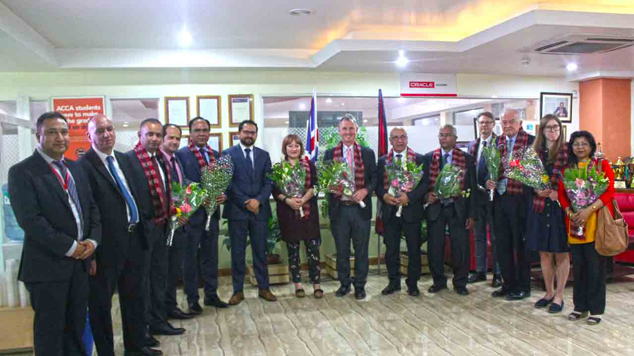 British Group of Member of Parliament Visited The British College