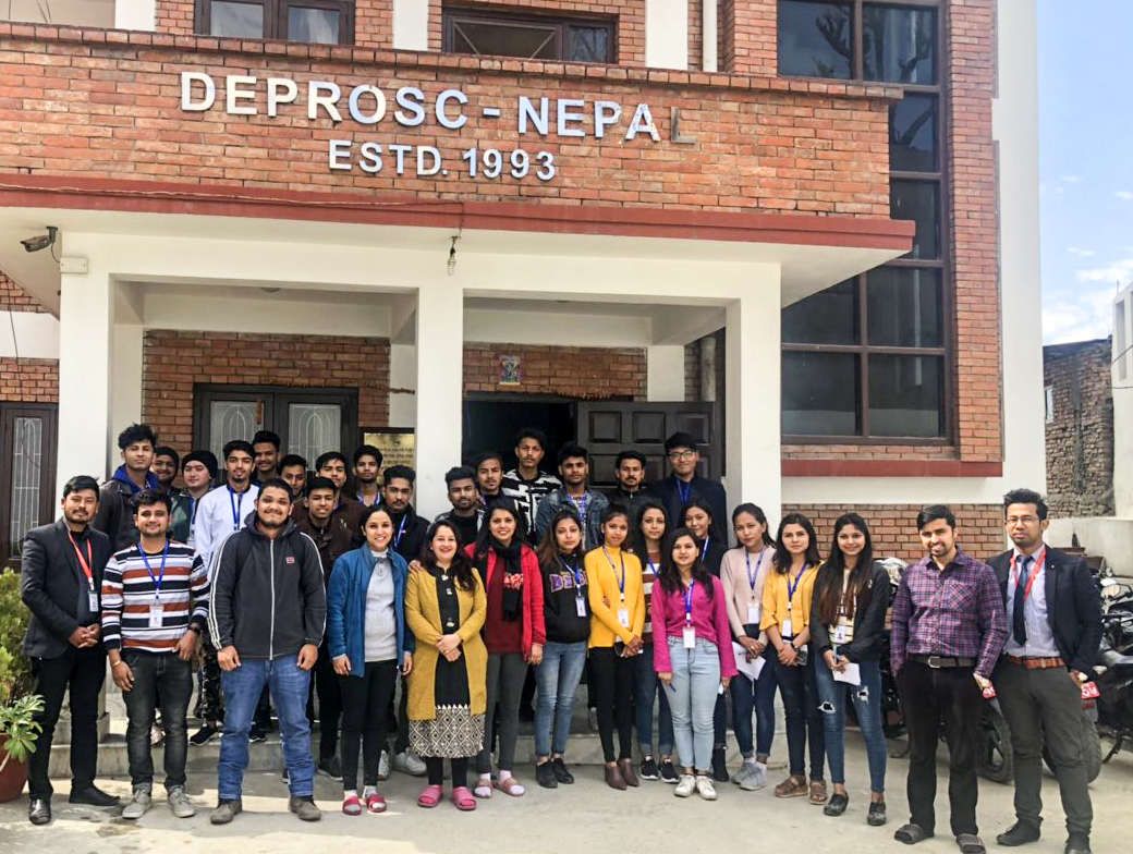 Exposure Visit for ACCA students at DEPROSC Nepal