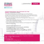 CIMA Global Business Challenge 2014