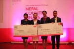 The British College triumphs in the CIMA Global Business Challenge, Nepal 2015