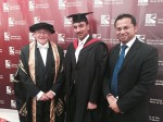 TBC students graduated in Bristol, UK