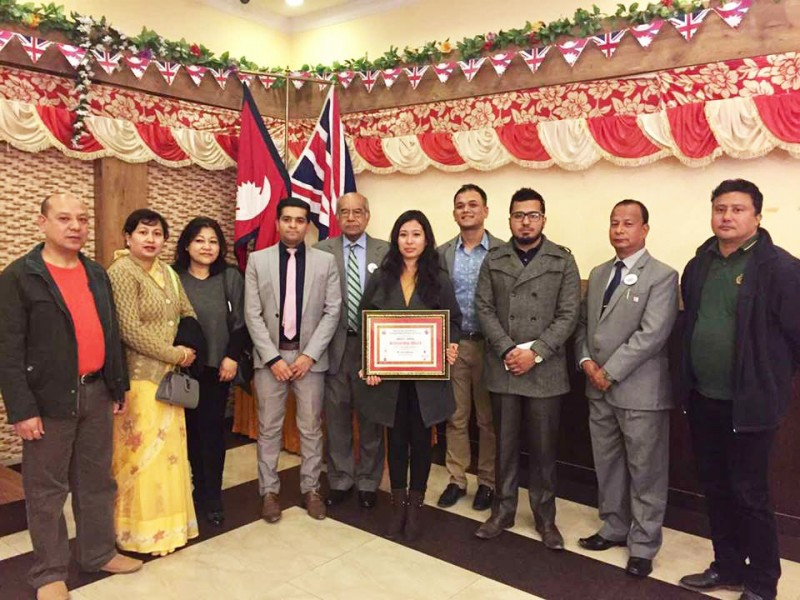 Rejika Maharjan Wins the NBCCI – ACCA scholarship 2016