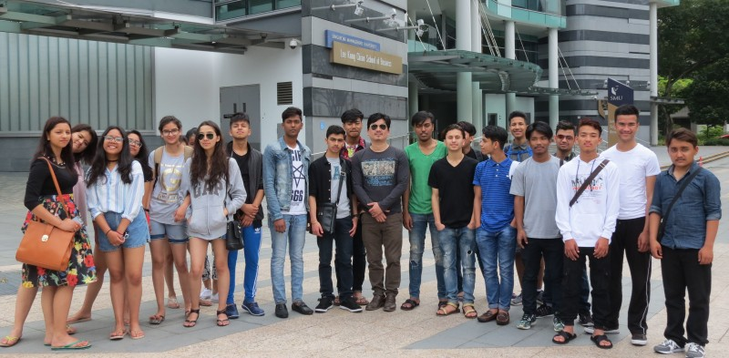 Winter Vacation of BMC Students in Singapore