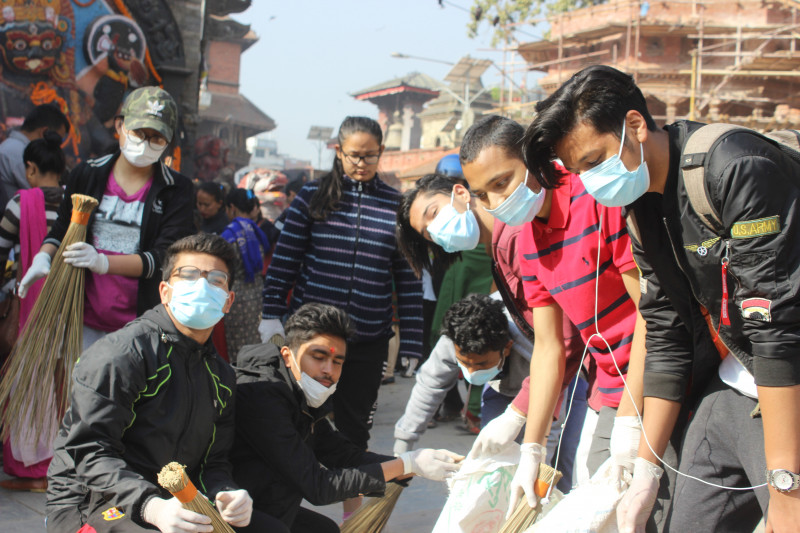 Basantapur Cleaning Campaign