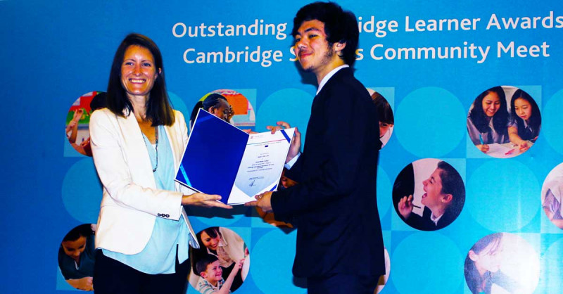 Cambridge Outstanding Learner Awards to British Model College