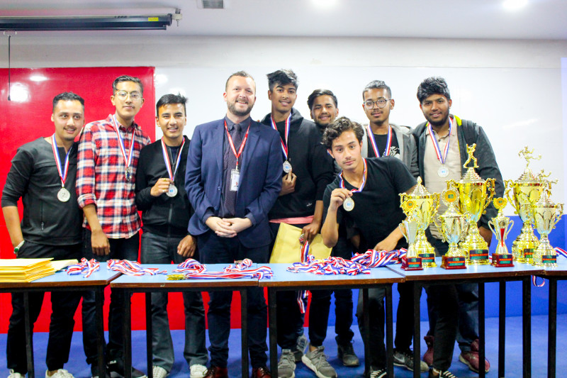 Award Ceremony for Sports Meet 2019 and Intra-College Esports Tournament 2019