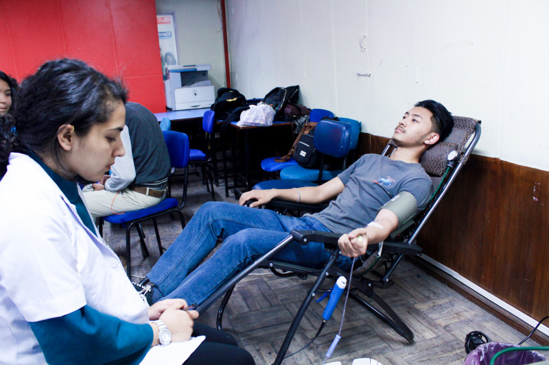 BCAN Blood Donation Programme at The British College