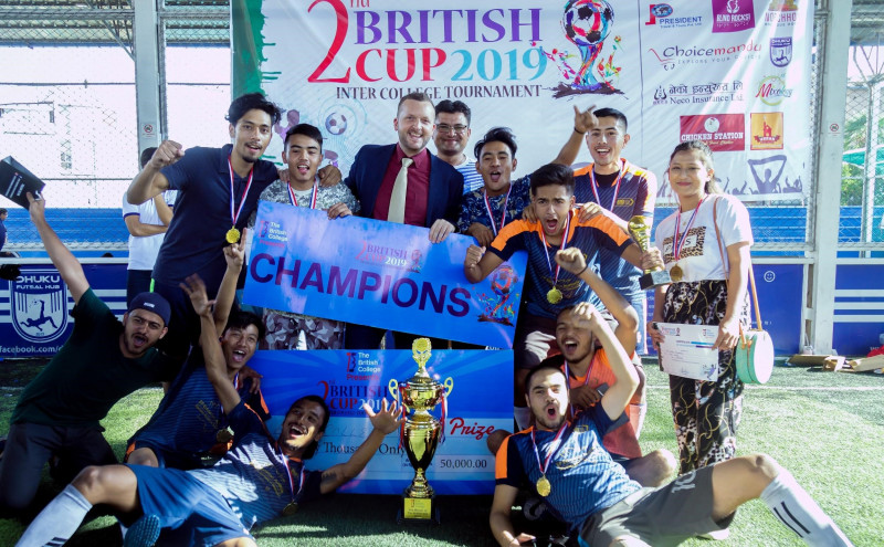 2nd British Cup: Inter College Futsal Tournament