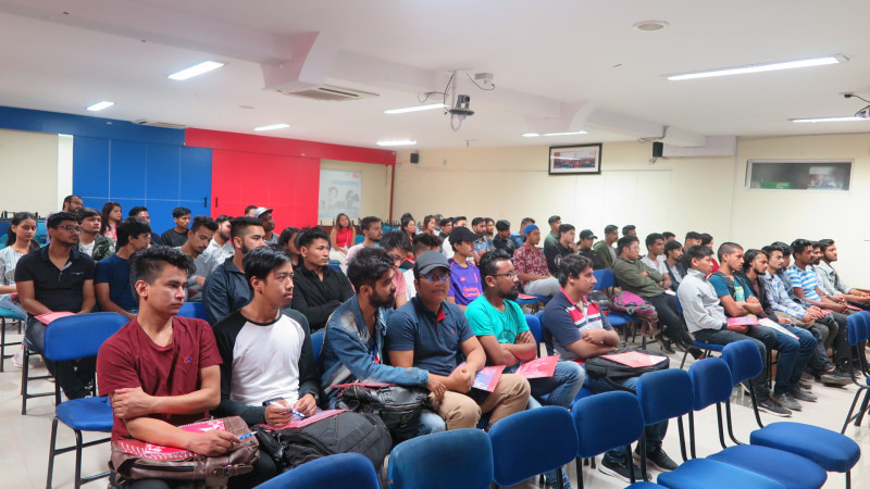 Induction Programme for BSc (Hons) Computing Top-up Students (August Intake 2019)