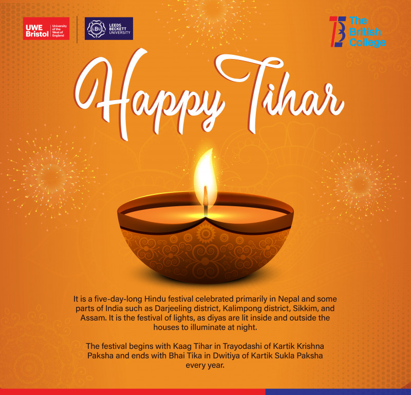 Happy Tihar from TBC Family