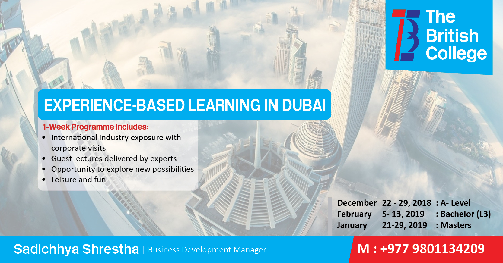 Experience -Based Learning in Dubai